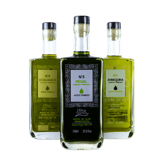 The premium glass bottle for oil Aceite Primero by Selective Line