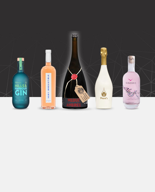 The latest achievements of high-end glass bottle by Selective Line in january 2018