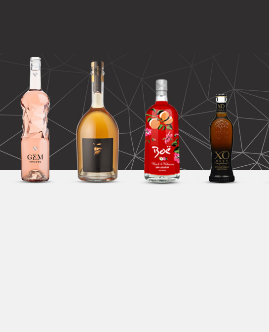 The latest achievements of high-end glass bottle by Selective Line in September 2017