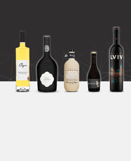 The latest achievements of high-end glass bottle by Selective Line in March 2018