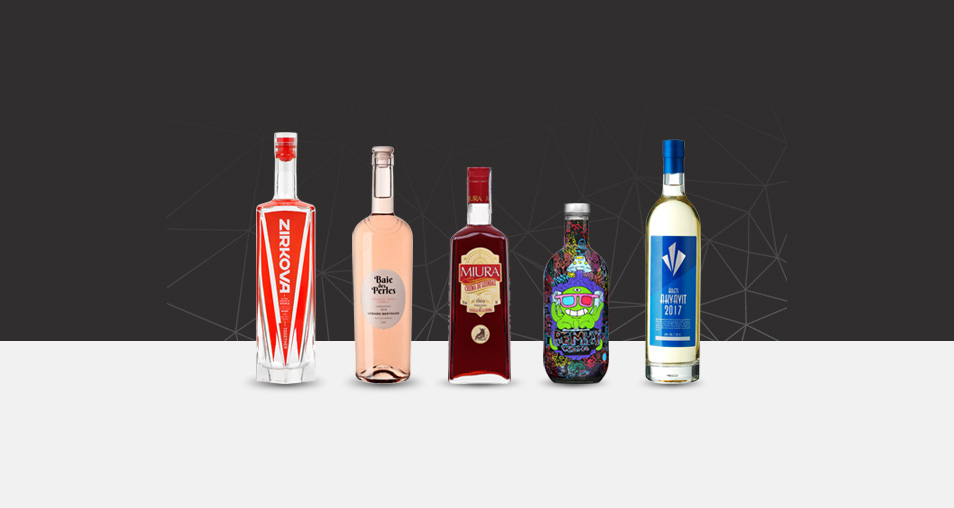 The latest achievements of high-end glass bottle by Selective Line in November 2017