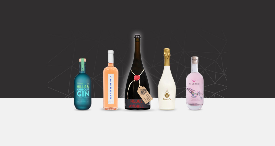 Achievements of premium glass bottles by Selective Line in january 2018