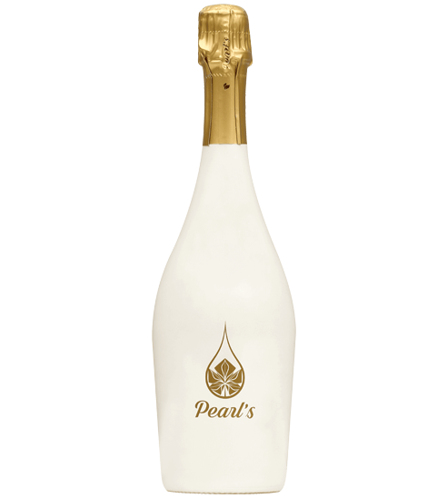 The white wine glass bottle Pearl Bay with product zoom Selective Line