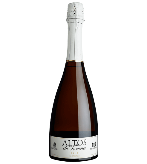 The high-end sparkling wine bottle Altos de Torona for Selective Line