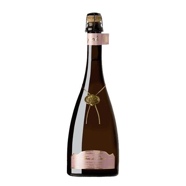 The high-end sparkling wine bottle Terras Do Demo Rose for Selective Line