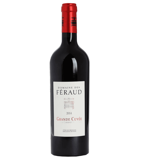 The high-end red wine bottle Grande Cuvée for Selective Line