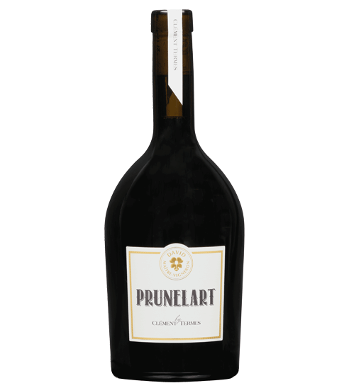 The premium red wine bottle Prunelart for Selective Line