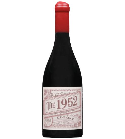 The 1952 high-end red wine bottle for Selective Line