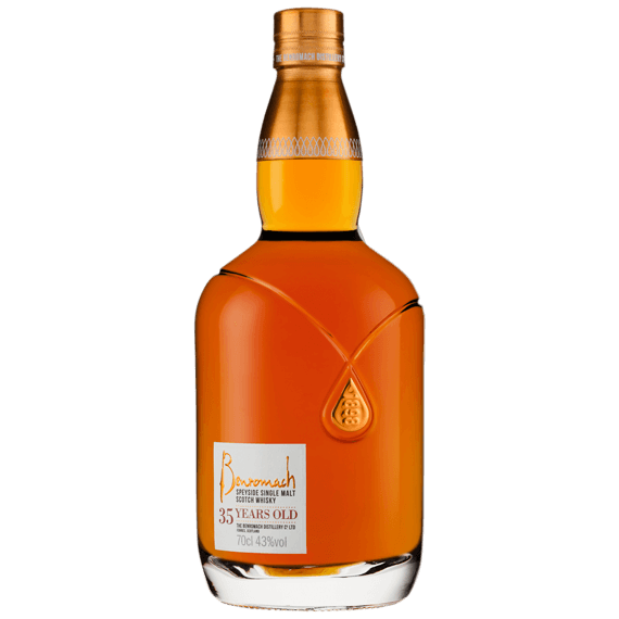 The high-end whiskey glass bottle Benromach 35 for Selective Line
