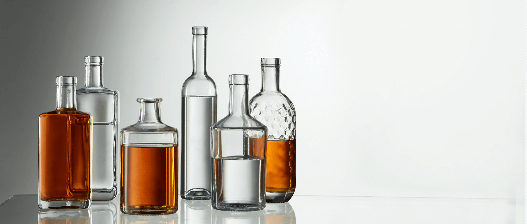 The brand Selective Line, who are we ? The high-end glass bottle