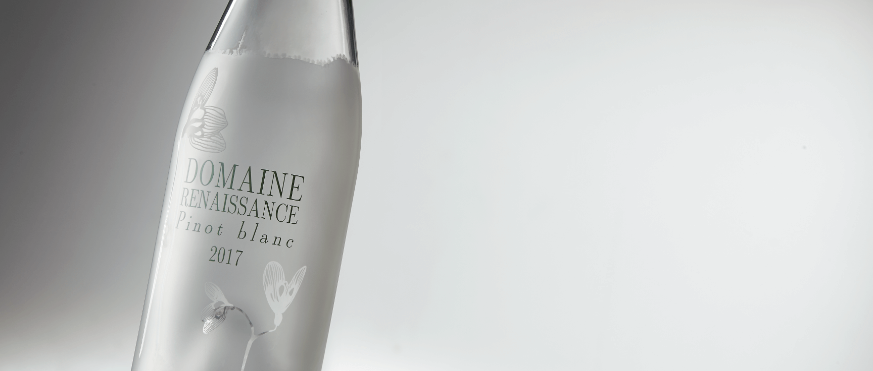 Acid Etching - Décor Techniques for premium glass bottle by Selective Line